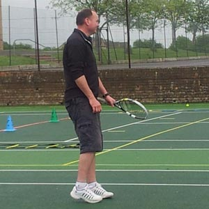 Member of Tetbury tennis club